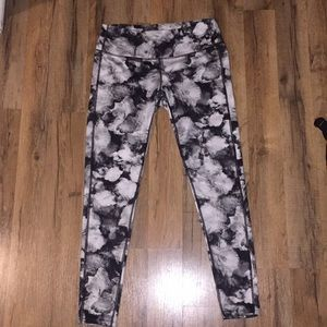 MOVING SALE: floral Athleta tights